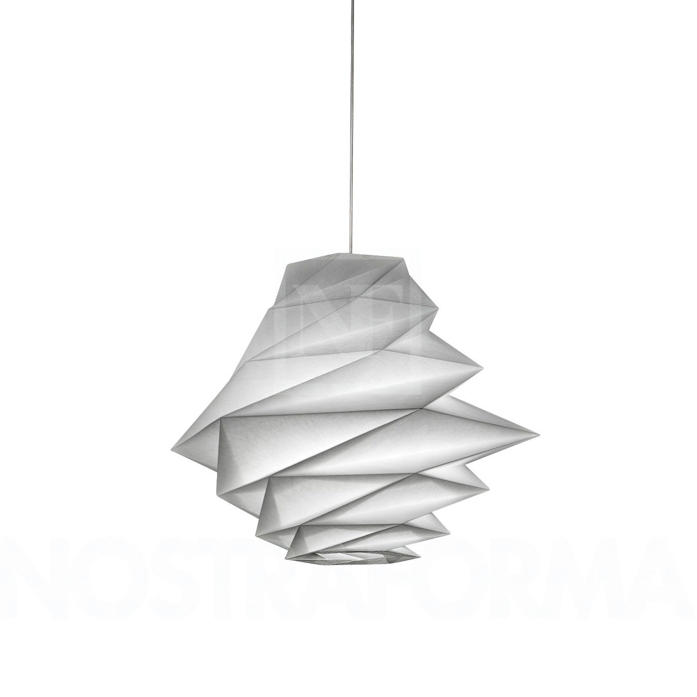 IN-EI Fukurou suspension de la marque Artemide